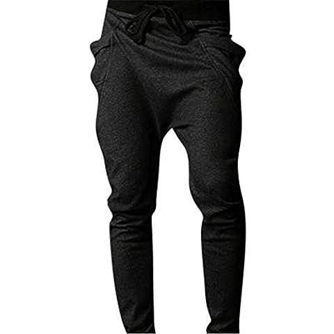 Jeansian Estate Tendenze Moda Uomo Sport Casuale Slim Fit Pantaloni