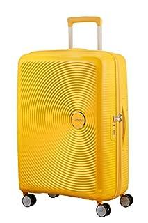 American Tourister Soundbox Spinner Espandibile Bagaglio A Mano, 67 cm, 71,5/81 L, 3,7 Kg, Giallo (Golden Yellow) (B079LZ4GL7) | Amazon price tracker / tracking, Amazon price history charts, Amazon price watches, Amazon price drop alerts