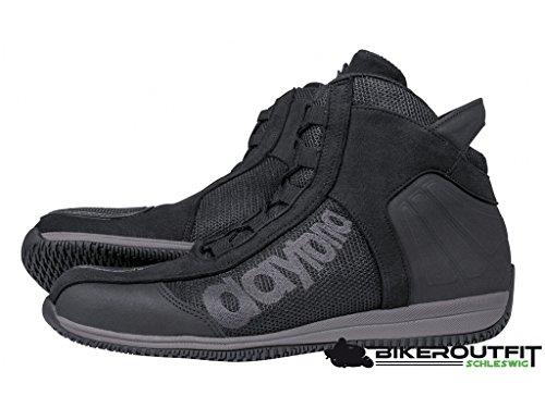 kurze Stiefel Daytona AC4 WD schwarz, SCHWARZ, 46