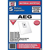 ERSA 915740 Bolsa aspirador, Blanco
