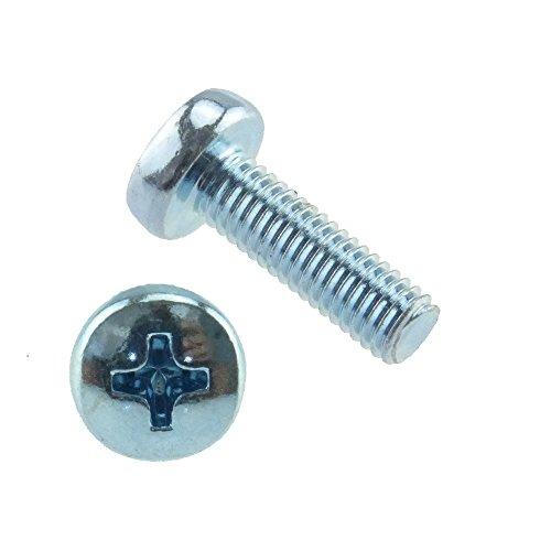 Linsenschraube PH-Kreuzschlitz H DIN 7985 4.8 Stahl gal verz. M 8 x 45 - 100 Stück