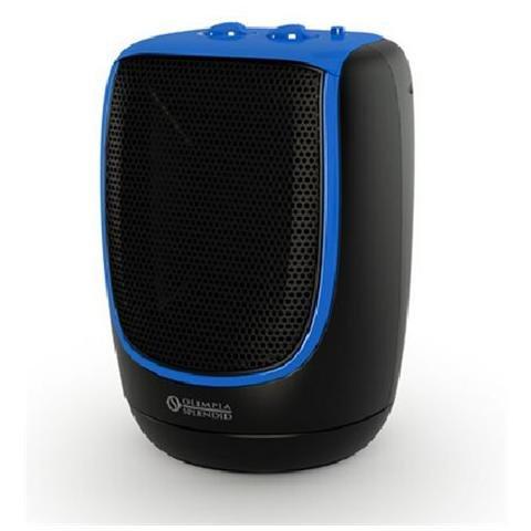 OLIMPIA SPLENDID RADICAL Termoventilatore Ceramico Potenza 2200 Watt Colore Nero / Blu