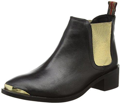 Pepe Jeans ANGIE ELASTIC, Stivaletti a gamba corta mod. Chelsea, imbottitura leggera donna, Oro (Gold (099GOLD)), 36