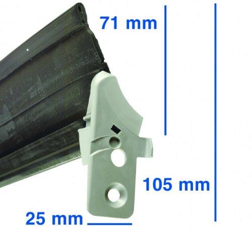 Türdichtung Dichtung unten Geschirrspüler Spülmaschine Bosch BSH 298534 00298534
