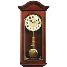 4faaa866c09b Amazon.es  relojes de pared en madera con pendulo