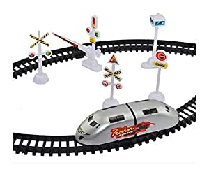 Virat Train Track Set for Kids with High Speed Bullet Train for 3 Years and Up Kids
