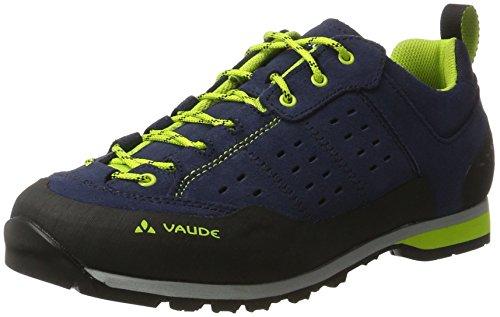 VAUDE Men's Dibona Advanced, Chaussures de Randonnée Basses Homme Bleu (Eclipse)