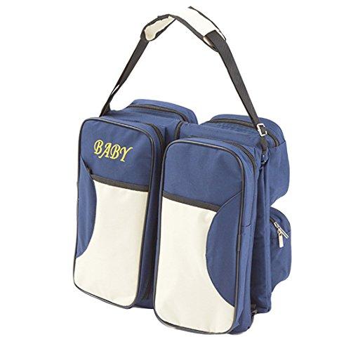 Babywiege\n, tragbare Reisekrippe\n, Wickeltasche, Wickelstation mit Mat\nte, faltbares Bett\n, multifunktionale Tragetasche\n für Babys im Alter von 0-12 Monaten