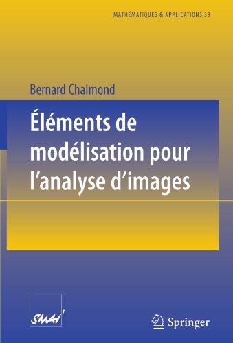 Eléments de modélisation pour l'analyse d'images