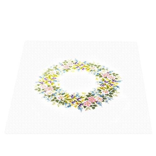 Stickerei-Kit 1187 Tischdecke 4520G (off white) Wild Rose (Japan Import / Das Paket und das Handbuch werden in Japanisch) -