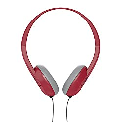 Skullcandy Uproar On-ear Headphones with Built-In Mic and Remote, Ill Famed Red