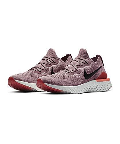 Preisvergleich Produktbild Nike Nike Epic React Flyknit 2 Women'S R - plum dust / black-ember glow,  Größe:10.5