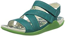 Think! Women's 686536_sandaal Sling Back Sandals, Blue (Opal/Kombi 81), 8 UK