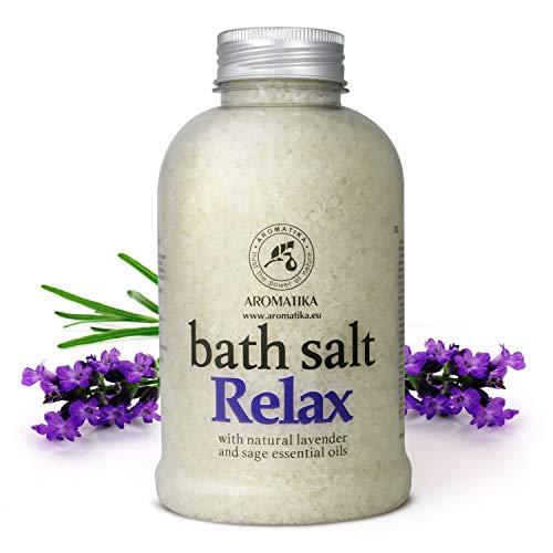 Sales Baño Relajantes 600g - Aceite Esencial Lavanda