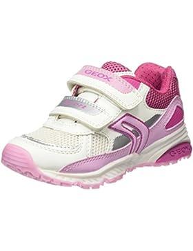 Geox J Bernie Girl B, Sneaker Bambina