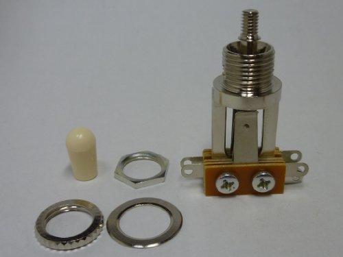 Elfenbein Toggle ((Gemacht in Japan)High Quality 3-wege Long Toggle Schalter Elfenbein Kn?pfe set, (metric))