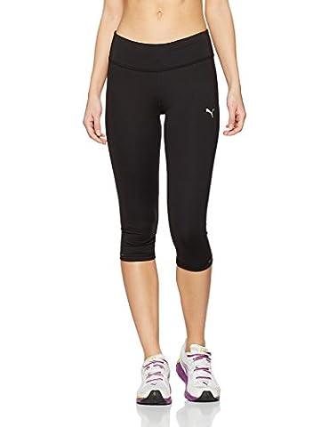 PUMA Core Legging de sport 3/4 Femme Puma Black FR : S (Taille Fabricant : S)