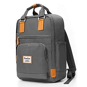 41rR7l1R1FL. SS300  - YAMTION Unisex Rucksack Daypack Schulrucksack mit Laptopfach, Lässiger Tagesrucksack Wasserdichter für 15.6 Zoll Laptop & 9.7 Zoll Tablette Laptop Rucksack für Damen und Herren, Mädchen und Jungen
