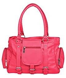 Relevant Yield Women's Shoulder Bag Pink (PINK-0019)