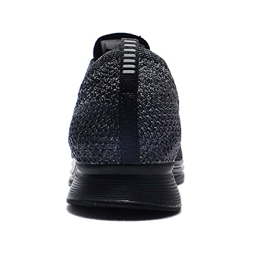 Nike  Flyknit Racer, Baskets mode pour homme Noir