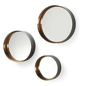 Kavehome Set de 3 Miroirs Wilton