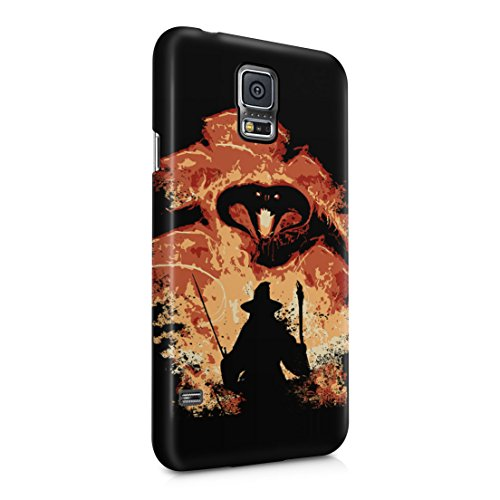 Lord Of The Rings Balrog Cs Gandalf Samsung Galaxy S5 Hard Plastic Phone Case Cover
