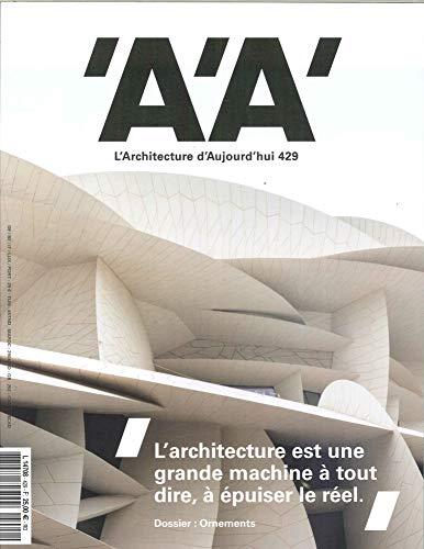 L'Architecture d'Aujourd'Hui N 429 Ornements, Icones et Symboles - Mars 2019