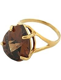Bague - Plaqué or - Oxyde de Zirconium - 5200377