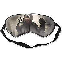 Schlafmaske, Premium-Qualität, Dark Warrior Augenmaske, leicht, mit verstellbarem Riemen, blockiert das Licht... preisvergleich bei billige-tabletten.eu
