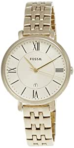 Fossil Analog Gold Dial Women's Watch - ES3434