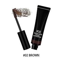 02: 3CE EUNHYE HOUSE Brand Lengthening Mascara Eyes Makeup Black Waterproof Mascaraes Curling Mascara Thick Black Eyes Cosmetics