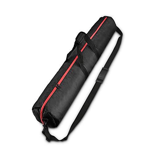 UTEBIT Stativtasche 100CM mit 80-140CM Tragegriff Lichtstativ Tasche Tripod Bag 1680D Oxford Stoff Wasserdicht Doppelter Reißverschluss für Light Stand, Stativ, Fotostudioausrüstung