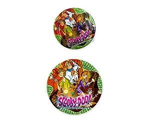 Atosa Pack 5 Platos, 20.5 CMS DIAM. Scooby DOO 17112