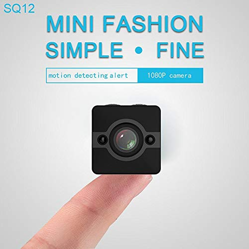 Mini Spy Camera, 1080 HD Telecamera Spia Nascosta Cubo Impermeabile Infrarossi Portatile Microcamera Wireless Mini Videocamera Action Camera con Supporti
