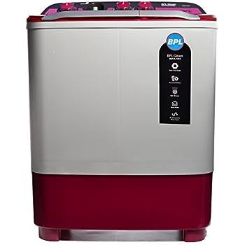 BPL 7.2 kg Semi-Automatic Top Loading Washing Machine (BSATL72X1, Dual Colour)