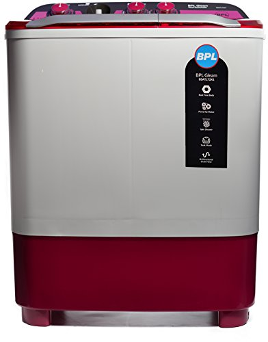BPL 7.2 kg Semi-Automatic Top Loading Washing Machine (BSATL72X1, Dual Colour)