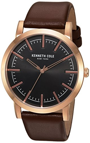 kenneth-cole-new-york-mens-slim-quartz-stainless-steel-and-leather-dress-watch-colorbrown-model-1003