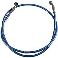 Tubo de freno de la motocicleta universal Trenzado de acero Hidráulico Reforzar embrague de freno Tubo de aceite de la tubería Tubo de tubo para Racing Dirt Color de la bicicleta: Azul