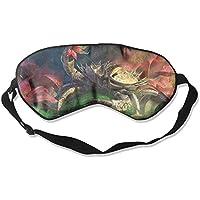 Eye Mask Eyeshade Large Crab Sleep Mask Blindfold Eyepatch Adjustable Head Strap preisvergleich bei billige-tabletten.eu