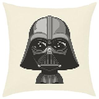 Kissenhülle, 40x 40cm bedruckt, 100% Baumwolle–Darth Vader Digital Star Wars