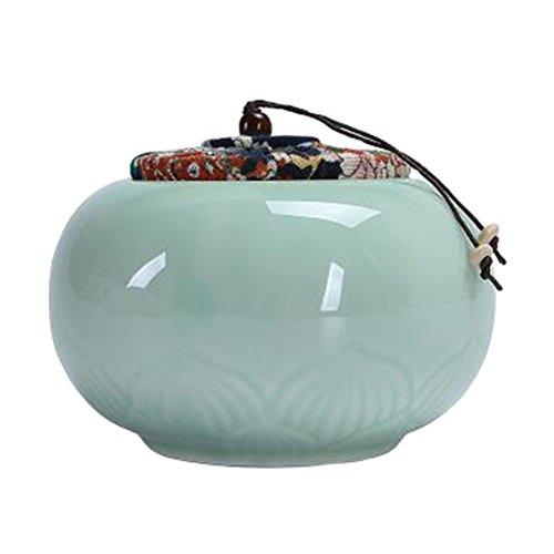 Chinesische Tee / Kaffee Container Keramik Topf S??igkeiten / Snacks / Cookies Topf Lagerung Flaschen NO.13