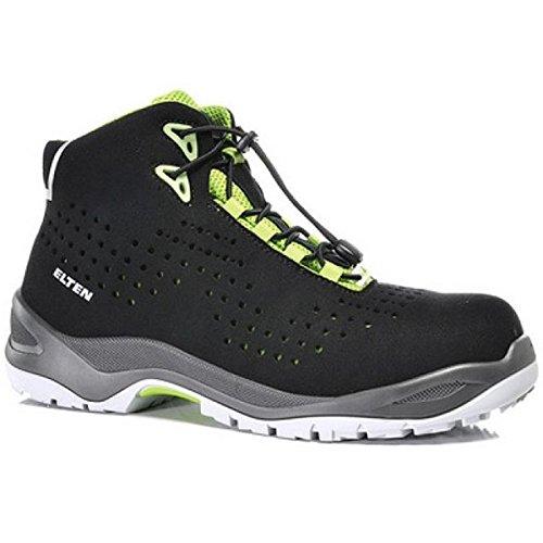 Elten 76255-38 Impulse Green Mid Chaussures de sécurité ESD S1 Taille 38