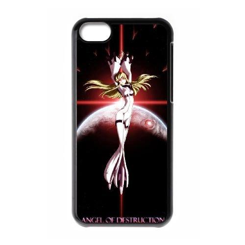 Code Geass C.C coque iPhone 5C Housse téléphone Noir de couverture de cas coque EBDXJKNBO17340