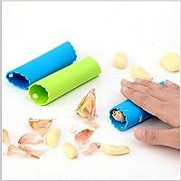 Macxy - [Farbe Randam magische Silikon Knoblauchschäler schälen Einfache Küche-Werkzeug-Farbe Random [3pc] preisvergleich bei billige-tabletten.eu