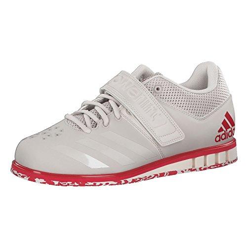 adidas POWERLIF3.1 MÃNNER GEWICHTHEBEL Schuhe, Weiß, 46