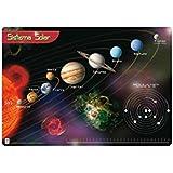 Grupo Erik Editores TSEH016 - Vade escolar con diseño sistema solar