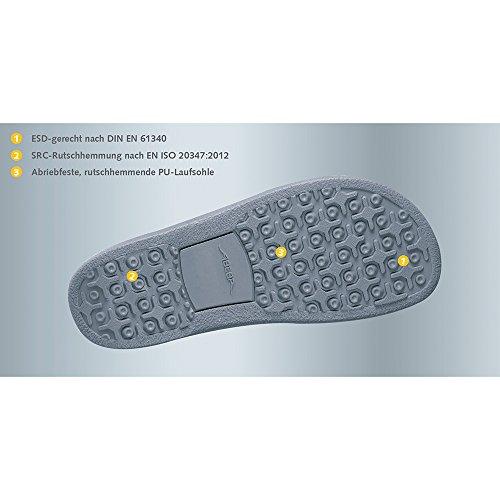 Abeba 35602-49 Arrow Chaussures sabot Taille 49 Blanc