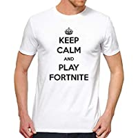 T-Shirt homme Keep Calm and Play Fortnite