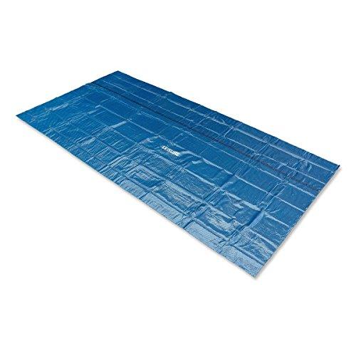 Leisure Profi Pool Solarabdeckplane schwarz blau
