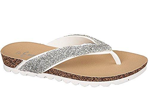 Foster Footwear - Sandali  da ragazza' donna White